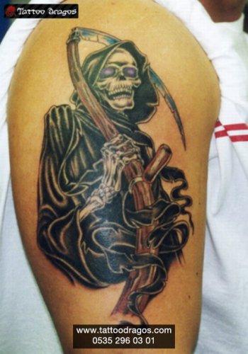 Azrail Tattoo