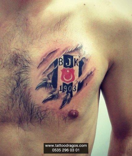 Beşiktaş Dövmesi