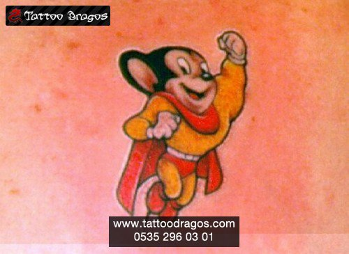 Cartoon Fare Tattoo