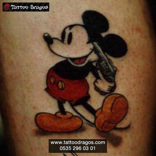Cartoon Fare Tattoo