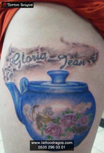Çaydanlık Demlik Tattoo