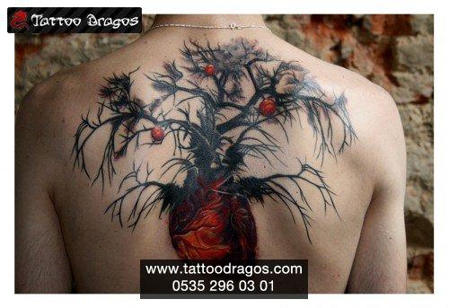 Elma Ağacı Tattoo