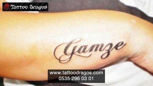 İsim Tattoo