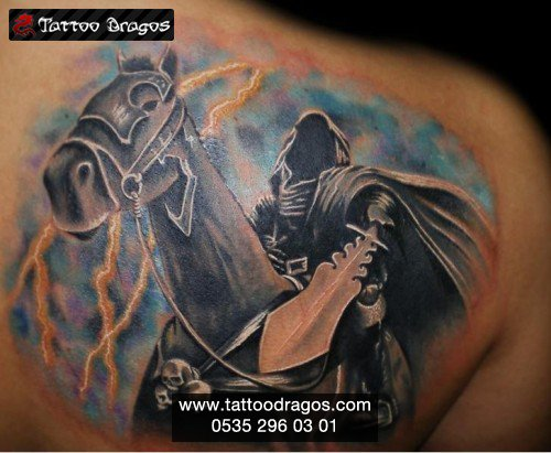 Kara Şovalye Tattoo