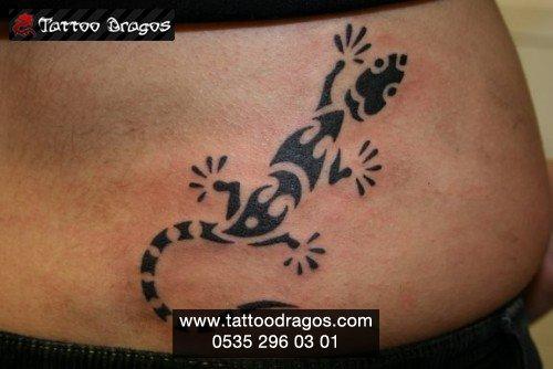 Kertenkele Tattoo