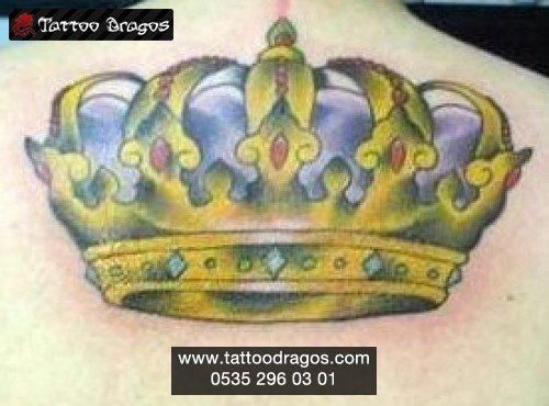Kral Taç Tattoo