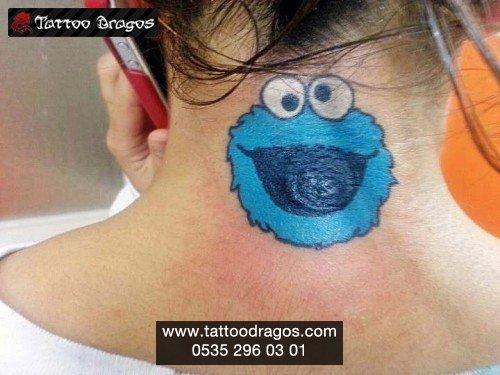 Kurabiye Canavarı Tattoo