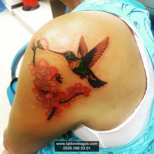Sinek Kuşu Dövmesi