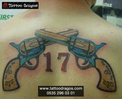 Tabanca Silah Tattoo