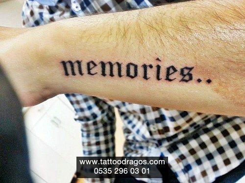 Yazı Tattoo