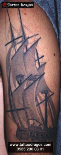 Yelkenli Tattoo