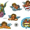 Baby Angel Wings Tattoo Designs  Free Home Design