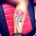 Gül Kolye Tattoo