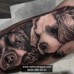 Köpek Portre Dövmesi