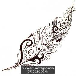 Maori Tüy Dövme Modeli